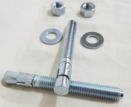 Kit ancrage 1/2 pouce grosseur.  4  1/4 pouces de long